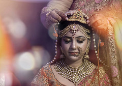 B R I D E (nimitnigam) Tags: wedding weddings india indian bride brides marriage nimit nigam haridwar new delhi delhite nikon d810 70200mm f28 telephoto lens camera girl women travel portrait portraits portraiture environmentalportrait prewedding bombay mumbai calcutta jain jainy uttar pradesh light leak lightleak leaks creative photo photos image images photography photographs photograph