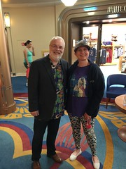 """Ron Clements with Tracey • <a style=""""font-size:0.8em;"""" href=""""http://www.flickr.com/photos/28558260@N04/38993948132/"""" target=""""_blank"""">View on Flickr</a>"""
