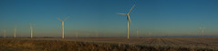 Harvesting the wind (famasonjr) Tags: wind turbine generator panarama canoneos7d canonef28135mmf3556isusm usa indianna west lafayette