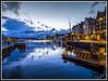 Paseando por Noruega: Bergen (edomingo) Tags: edomingo olympusomdem5 mzuiko1240 bergen noruega puerto atardecer horaazul