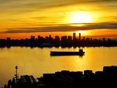 Last night's sunset and nightfall (+2) (peggyhr) Tags: peggyhr sunset series vancouver bc canada