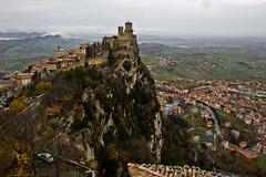 San Marino - Fortress of Guaita - 11-30-12 (mosley.brian) Tags: sanmarino repubblicadisanmarino mostserenerepublicofsanmarino serenissimarepubblicadisanmarino montetitano guaita