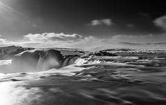Goðafoss (Salvo.do) Tags: iceland waterfalls wate flows nature landscape pentax k5 1855 wr photography river hoya nd filter pro 1000 black white blackwhitephotos blackandwhite blackwhite bw bianco nero cascate islanda travel explore adventure