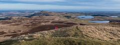 0091 (759) - Top of West Lomond (Zana Benson) Tags: lomondhills scotland summit viewtoeastlomond westlomond