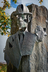 Hommage  à Magritte (musette thierry) Tags: magritte parmentier thierry xavier rené musette photo hommage peintre sculpture nikon reflex d600 28300mm