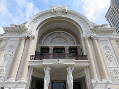 Vietnam - South Vietnam - Ho Chi Minh City - Opera House (JulesFoto) Tags: vietnam hochiminhcity saigon operahouse