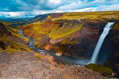 Haifoss (patrickburtin) Tags: falls cascade iceland