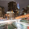 Fifth and Broadway (20171212-DSC04612-Edit) (Michael.Lee.Pics.NYC) Tags: newyork night flatirondistrict madisonsquarepark broadway fifthavenue esb empirestatebuilding longexposure lighttrail traffictrail sony a7rm2 fe24105mmf4g