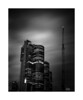 Towering (Mike Hankey.) Tags: longexposure darlingharbour cloud published city cityscape sydney barangaroo harbour pyrmont
