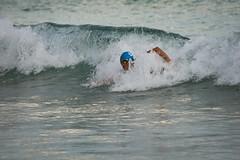 Warm up (Pat Charles) Tags: noosa queensland australia noosaheads beach ocean pacific water sea morning early surf waves surfing race racing triathlon athlete elite triathlete splash splashes bodysurf bodysurfing swim swimming