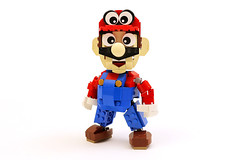 LEGO Super Mario Odyssey Character MOC (The Brick Show) Tags: lego mario nintendo super odyssey video games nes switch