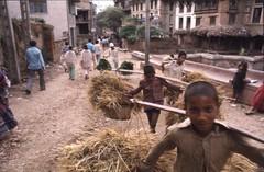 Kathmandu, Nepal 1976 (knjy) Tags: nikonf 28mmf35nikkor agfachrome50s katmandu nepal 1976