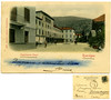Roncegno, stabilimento bagni, Stenghel % Co., Dresden, 1906 (Ecomuseo Valsugana | Croxarie) Tags: cartolina 1906 terme roncegno roncegnoterme