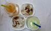 Street treats (Roving I) Tags: juice straws packaging plastics styrofoam sauces food vietnam vietnamesecuisine saigon streetfood hochiminhcity