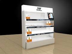 CS083 cosmetics display shelf (display-cabinets.com) Tags: cosmetics display stand shelves shelf