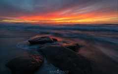 Sea of Fire (ihikesandiego) Tags: hopital reef la jolla san diego sunset