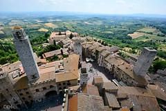 San Gimignano Tower View