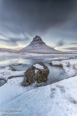 kirkjufell mountain (cozyjunior) Tags: lonelyplanet moody landscape colour clouds kirkjufell longexposure 10stop waterfall water sunrise nature canon6dmkii canon nisifilters nisi snow mountain iceland