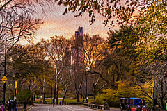 1341_0493FLOP (davidben33) Tags: newyork central park street streetphotos people nature trees bushes leaves colors green yellow blue sky cloud lake portraits women girl cityscape landscape autumn fall 2017 beauty