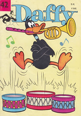 Daffy Nr. 42 (micky the pixel) Tags: comics comic heft humor funny vintage looneytunes warnerbrospictures walterlehningverlag daffy daffyduck musikant