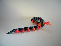 Happy Success Snake (AKA HSS) - Talo Kawasaki (Rui.Roda) Tags: origami papiroflexia papierfalten cobra serpente happy success snake hss talo kawasaki