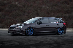 Subaru Impreza | Bavar Racing BVR03 | Bayside Blue (BavarRacing) Tags: subaru subie subieflow impreza fb20 fb20society rumblebros bavar bavarracing bayside bagged bvr03 blue stance slammed air lift performance bags wheels aftermarketwheels
