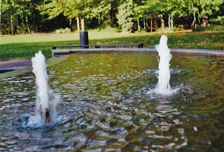 Springbrunnen im Kurpark Bad Liebenwerda