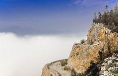 A foggy morning bove the Verd Quarry (rlubej) Tags: notranjska hillsmountains fog