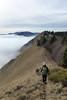 cresta (Tabboz) Tags: montagna sentiero cresta cima vetta prati prealpi autunno cengia tramonto escursione malga montegrappa panorama nuvole nebbia