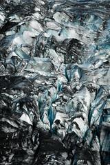 Ice & Ashes / Pattern - Iceland (Toine B.) Tags: ice glacier svínafellsjökull iceland islande shapes nikon d750 sigma 70200 ashes landscape paysage