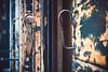 Faranume (Alex Cruceru) Tags: 314xel dead314xel nikond3100 d3100 nikon nikkor green wood decay weathered outdoors old metal hinge handle latch closeup architecture explore italia venezia shutter bokeh blind bokehlicious cruceru focus window plaster brown beige