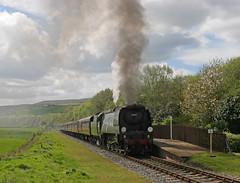 Irwell Vale Tangmere (Nigel Valentine) Tags: 34067 tangmere steam locomotive irwell vale