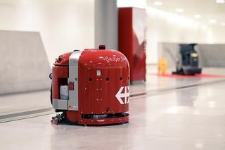 SBB Reinigungsroboter
