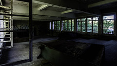 🏫 (AloysiaVanTodd) Tags: urbex urban explore explorer boarding school abandoned life creepy dark darkness dismal building natural light tag graff sensitivity sombre soul shades shadows decay window windows