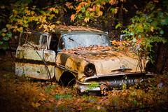 Ghost (jbrennsk) Tags: abandoned autumn baker hardycounty skaggsrunrd westvirginia car decay ghost rural
