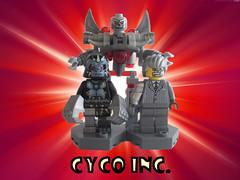 Cyco Inc. (Quickblade22) Tags: supervillains comics comicbook custom brickforge superpowers