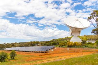 New Norcia station solar panels