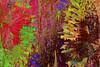 Enfrentadas (seguicollar) Tags: imagencreativa photomanipulación art arte artecreativo artedigital virginiaseguí hojas palmas red rojo verde vegetal vegetación green dorado leaves leaf