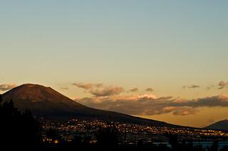 Napoli - Vesuvius at Sunset - 12-03-12
