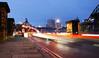 Slow shutter 01/12/17 (emily.morison) Tags: slowshutter quayside light trails blue red christmas cars bridge water newcastle