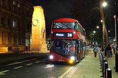 No.24 @ The Cenotaph (crashcalloway) Tags: nbfl newbusforlondon borismaster newroutemaster bus londonbus london westminster whitehall route24 cenotaph warmemorial night nighttime nightphotography