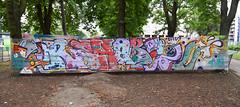 Rehab 2 (HBA_JIJO) Tags: streetart urban graffiti paris art france artist hbajijo wall mur painting letters aerosol peinture lettrage lettres lettring writer murale spray mural bombing urbain cellograff rehab rehab2