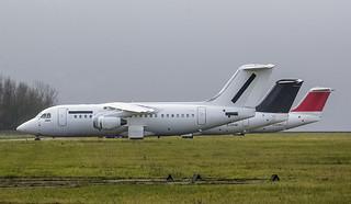 EI-RJC Cityjet Avro RJ85 @ Cranfield Airfield, Milton Keynes, Bedford.