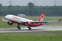D-ABXB Airbus A330-343E EDDL 19-05-17 (MarkP51) Tags: dabxb airbus a330223 a330 airberlin ab ber dusseldorf airport dus eddl northrhinewestphalia germany aviation airliner aircraft airplane plane image markp51 nikon d7200 d7100 aviationphotography