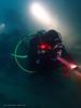 Wreck exploration (YellowSingle 单黄) Tags: saint sunniva st wreck exploration scuba diving tech ocean socoa jean de luz olympus tg4 foctec red light