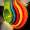 Measured (arbyreed) Tags: arbyreed colorful bright intense color close closeup red yellow blue green
