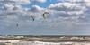 colorful kites (otgpics) Tags: kites kiteboarding kitesurfing windy breezy strong green whitecaps surf longboat key south florida gulf coast