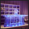 This #icebar is all set for a beautiful 10th #anniversary @hyattlostpines with @eclipseeventco As always, we love bringing @the_inviting_pear #monograms to life in #icesculptures #fullspectrumice #thinkoutsidetheblocks #brrriliant - Full Spectrum Ice Scul (fullspectrumice) Tags: this icebar is all set for beautiful 10th anniversary hyattlostpines with eclipseeventco as always we love bringing theinvitingpear monograms life icesculptures fullspectrumice thinkoutsidetheblocks brrriliant ice scupltures sculpting sculpture austin texas