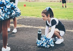 Cheering in Molalla (pete4ducks) Tags: oregon molalla 2017 cheerleading cheerleaders cropped matte on1pics mady madleyn mountainsidemavericks football sonyalpha mirrorless raw pete pete4ducks peteliedtke 500views