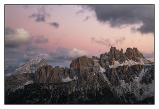 Dolomites Sunset